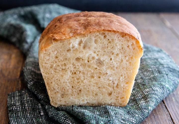 ricotta loaf sliced